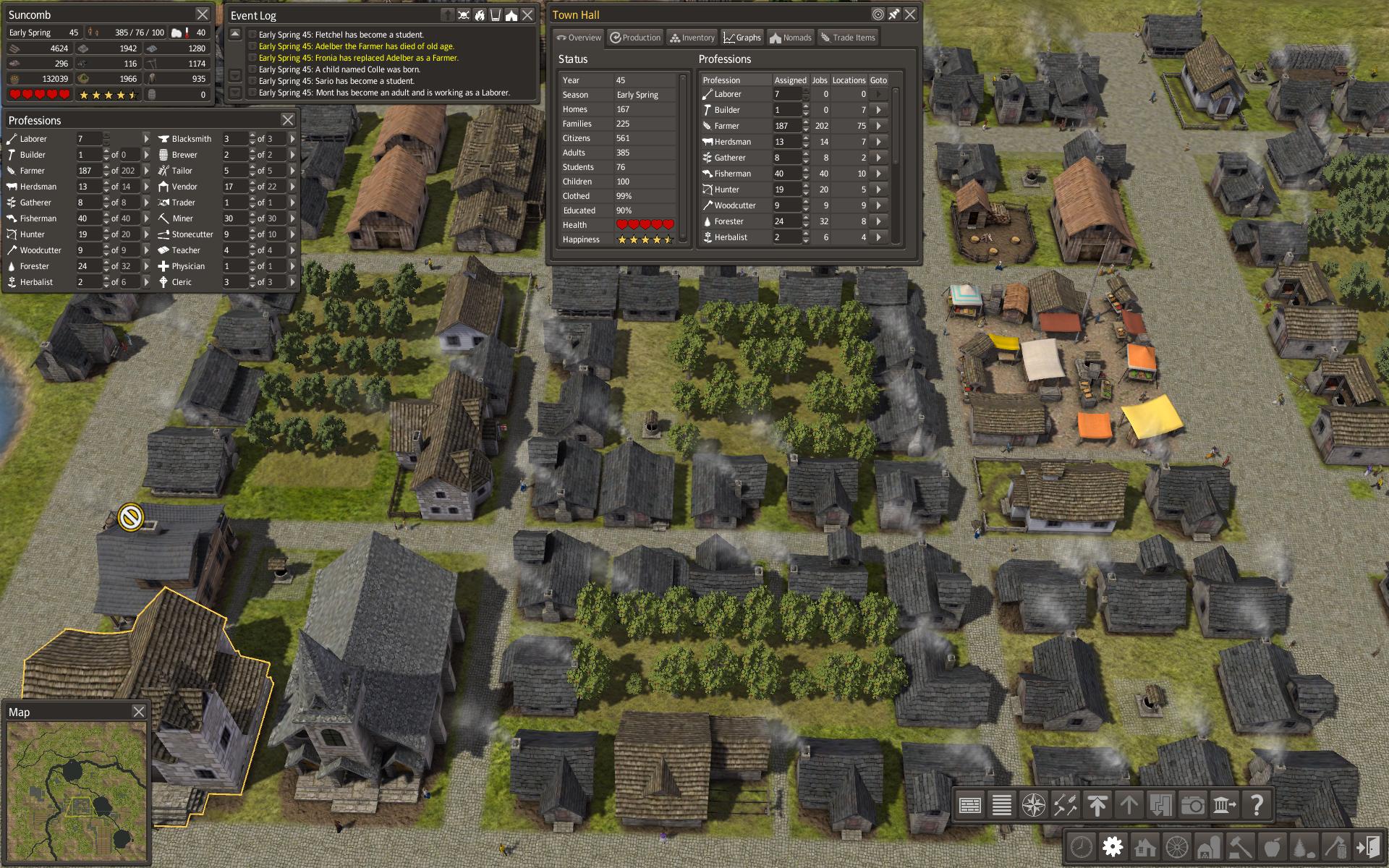 Обзор стратегии Banished - история забытого поселения или ...