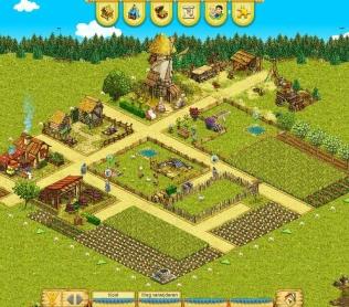 Базовая территория в игре My Little Farmies