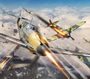 Воздушная эскадрилья, уничтожающая врага