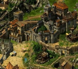 Развитая средневековая деревня