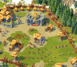 Эпоха Империй Онлайн - вид поселения