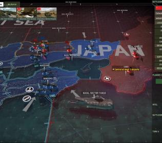 Wargame: Red Dragon - двухуровневая тактическая стратегия