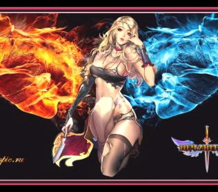 Обзор игры меч ангелов