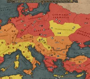 Описание тактической стратегии Total War Attila