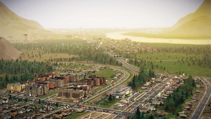 симулятор создания города Sim City 2013
