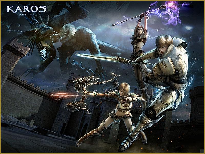Гейм-продвижение в Karos Online