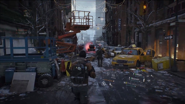 Элементы реальности Tom Clancy's The Division