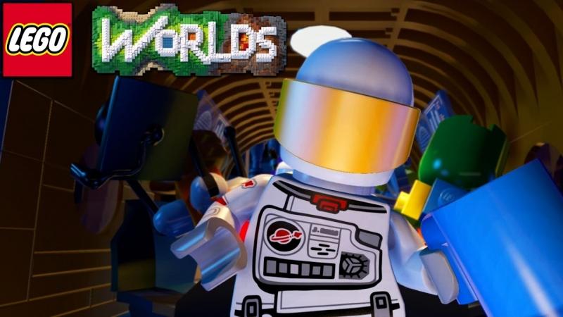 Знакомимся с игрой lego worlds