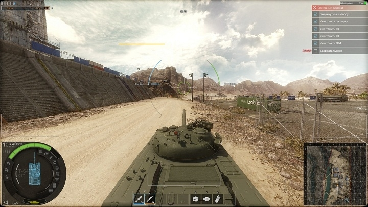 Танки в Armored Warfare