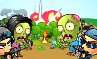 эпичная и смешная Zombie Wars Invasion
