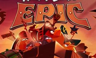 детская пошаговая стратегия Angry Birds Epic